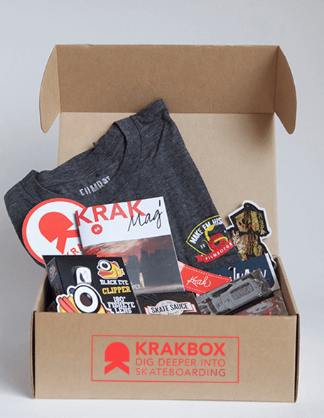KRAKBOX Cyber Monday Skateboarding Subscription Box Deal – Get an Extra Box FREE!!