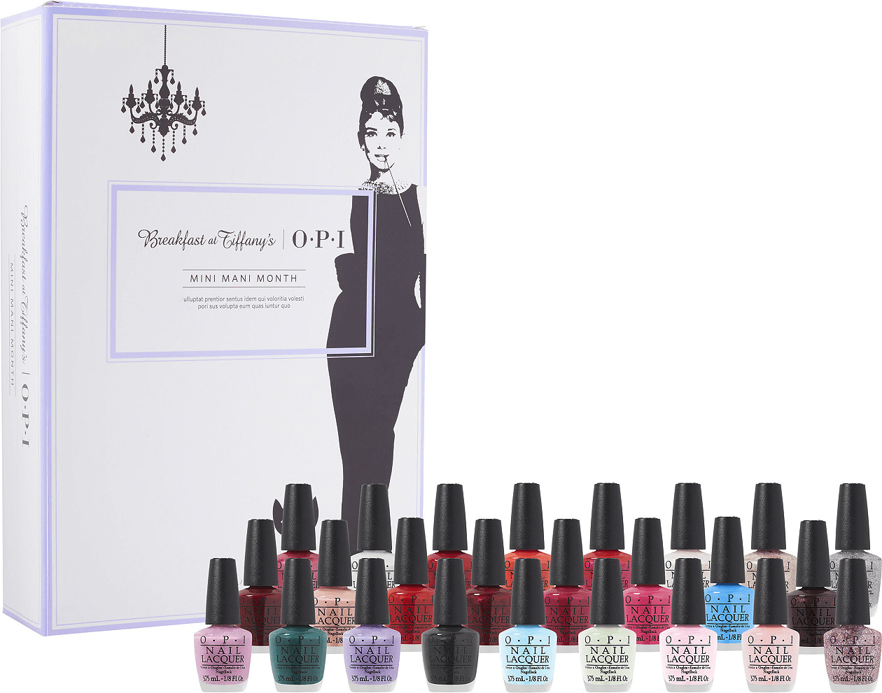 OPI's Breakfast at Tiffany's Mini Mani Month 2016 Advent Calendar Available Now!
