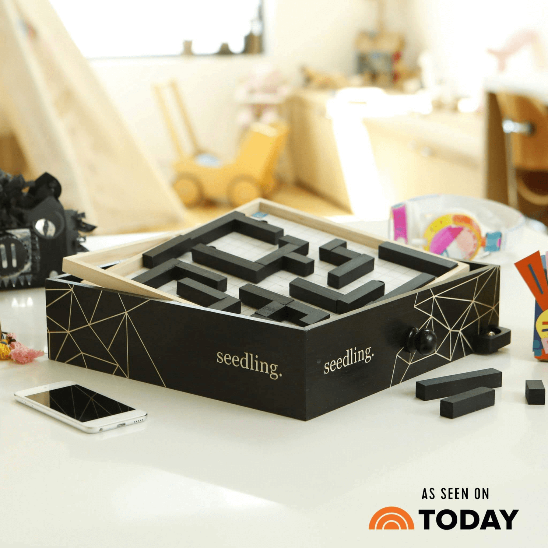 New Design Your Own Marble Maze Kit From Seedling