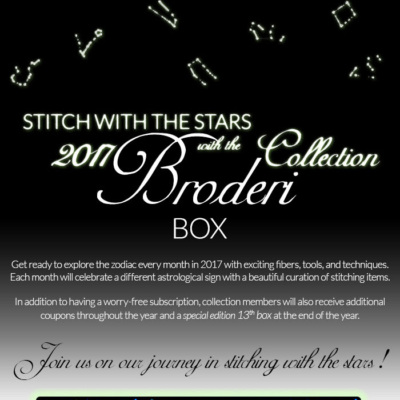 Broderi Box 2017 Theme Announced!