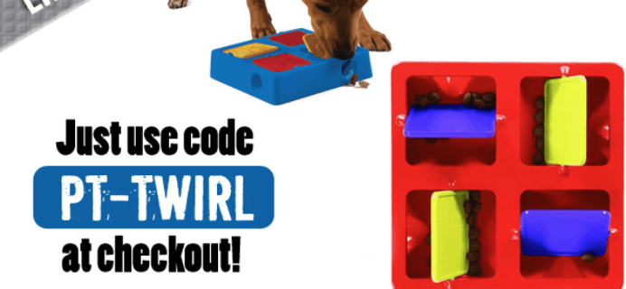 Pet Treater Coupon: Free Dog Tic-Tac-Twirl Game with Subscription!