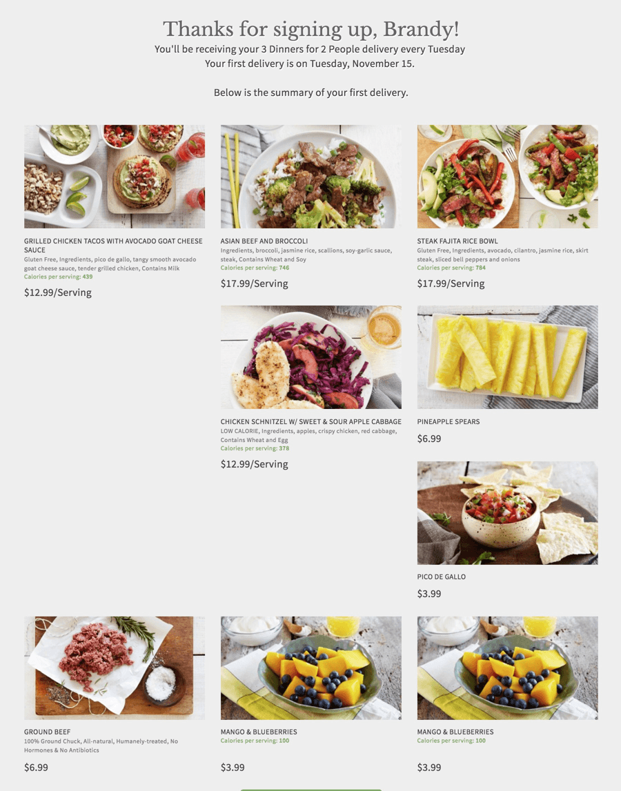 Terra's Kitchen Meal Kit Subscription: 50% Off Today Only!