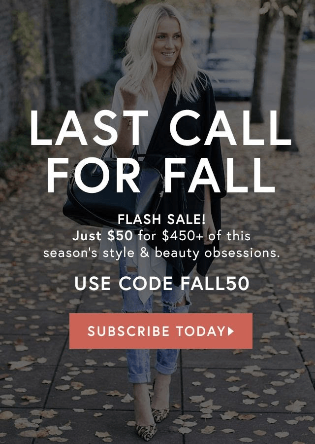 Save $50 On Rachel Zoe Fall Box of Style!