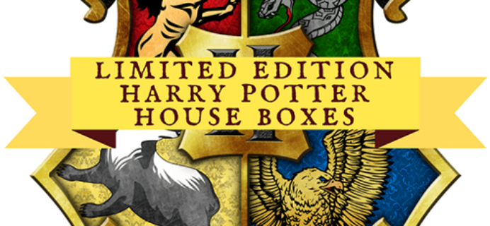 FanMail Favorites: Limited Edition Harry Potter House Boxes!