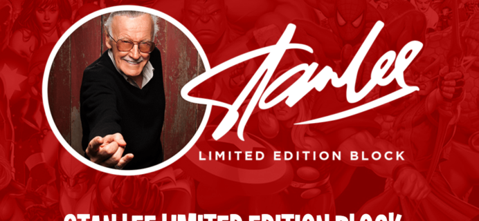 Stan Lee Limited Edition Box FULL Spoilers!