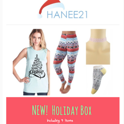 Hanee21 Holiday Box Available Now!
