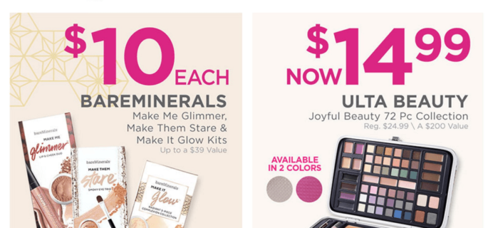 Ulta Black Friday Deals Live Now + Free Beauty Bag!
