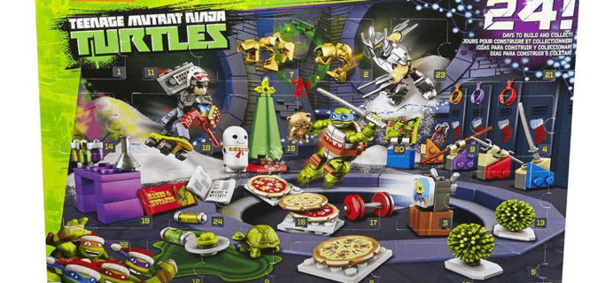 Mega Bloks Teenage Mutant Ninja Turtles Advent Calendar: $11.99!