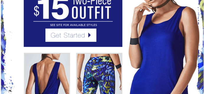 Fabletics Black Friday Week Deal: New Member First Outfit $15