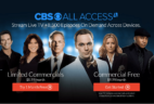 CBS All Access Streaming Video Subscription Black Friday Sale: Try a month FREE!
