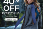Fabletics Black Friday Sale Day 3 40% Off EVERYTHING + First Outfit $19.95!