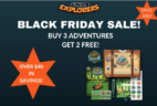 Junior Explorers Cyber Monday Subscription Box Deal! 2 Kits When You Buy 3!