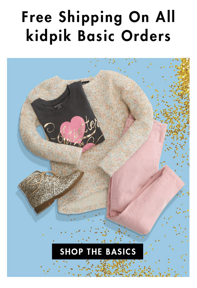 Kidpik Holiday Deal: Free Top With First Box!