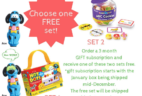 M is For Monster Cyber Monday Deal – Preschool in a Box Subscription Coupon!