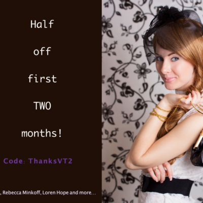 VivTote Cyber Monday Deal: 50% Off First Two Months!