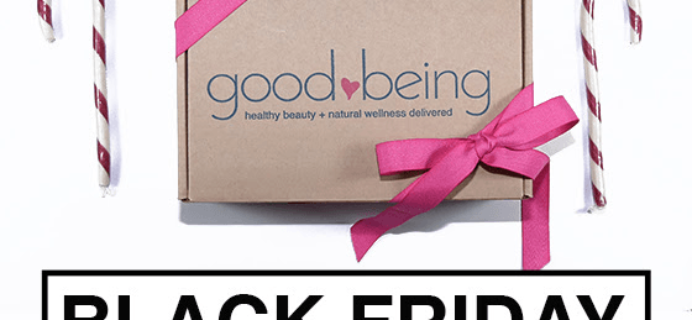 Goodbeing Subscription Box Black Friday Deal – Save $15 on First 3 Months!