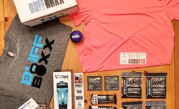 BuffBoxx Black Friday Fitness Subscription Box Deal: 15% Off First Box Coupon!