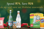 Amazon Deal: $25 Off a $75+ Holiday Essentials Purchase!