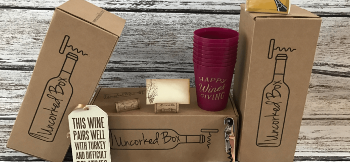 Uncorked Box Cyber Monday Deal: Free Christmas Box With 6+ Month Subscription!