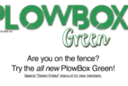 PlowBox Green MicroGreens Subscription Box Black Friday Deal – Free Box or 20% Off!