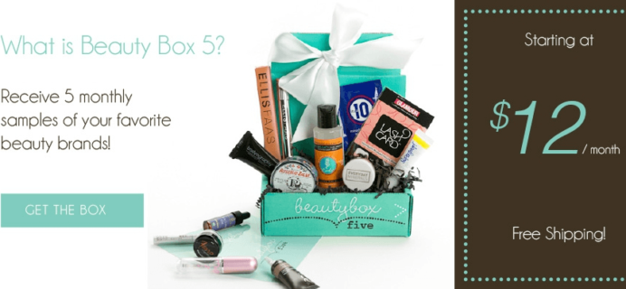 Beauty Box 5 Black Friday Deal – Free Eyeshadow & Eyeliner Set