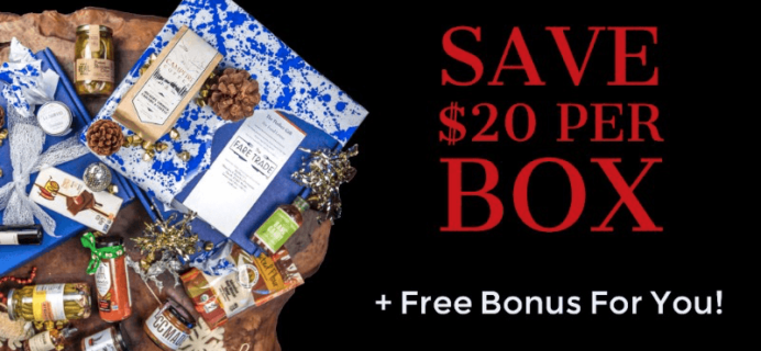 The Fare Trade Black Friday Deal: $20 Off Per Box + Free Bonus Item!