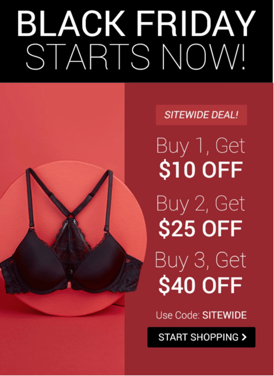 Adore Me Black Friday Deals – Save Up To  40 + BOGO Sale + First Outfit   14.95! 346c14b55