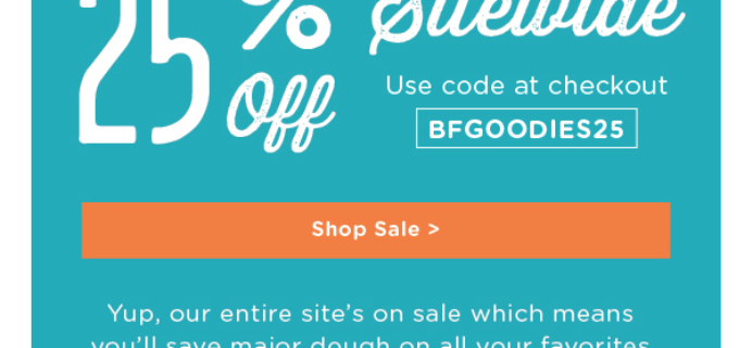 Foodstirs Black Friday Sale: 25% Off Subscriptions + Shop!
