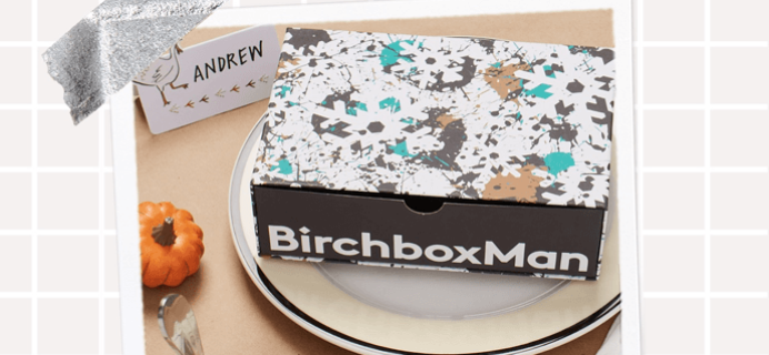 EXTENDED TODAY ONLY! Birchbox Man Cyber Monday Deal: Save Up To 20%!
