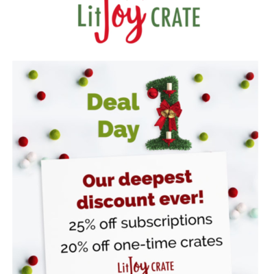 Litjoy Crate Black Friday Coupon: Save 20% On Subscriptions!