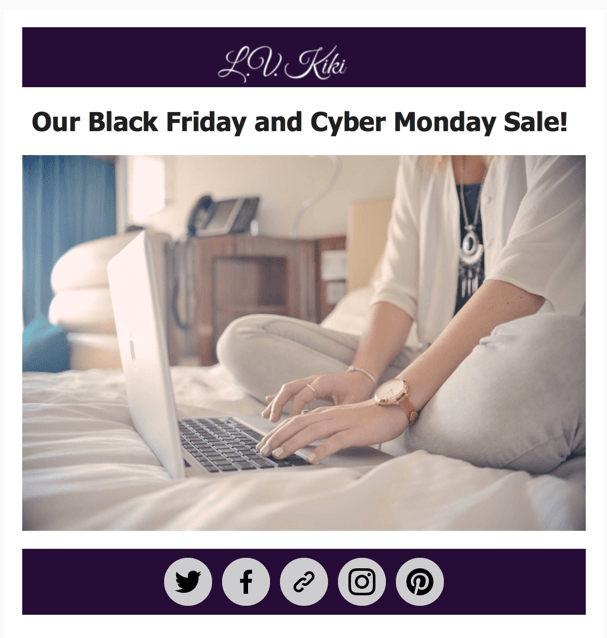 LV Kiki Cyber Monday Deal – 40% Off Subscriptions!