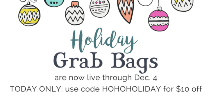 Umba Box Black Friday Deal: Holiday Grab Bags $10 Off!