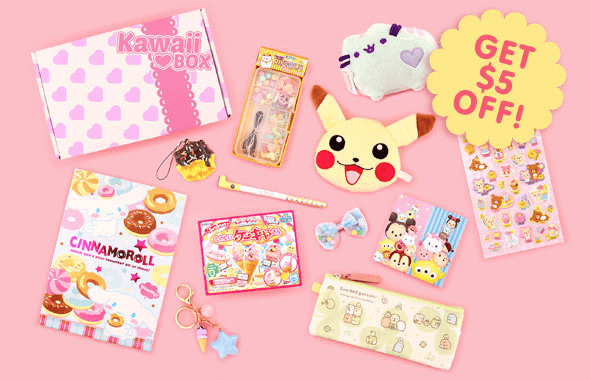 Kawaii Box Cyber Monday Coupon: Save $5 Off!