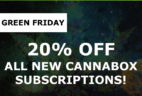 Cannabox Black Friday Coupon: 15% Off Subscriptions #greenfriday
