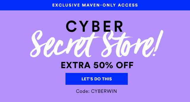 Julep Cyber Weekend Deal: 50% Off Secret Store For Subscribers!