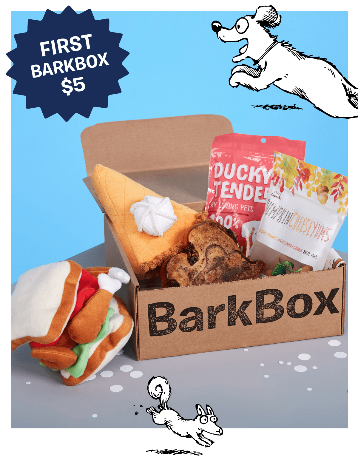 Barkbox Cyber Monday Deal: First Box $5 With Subscription!