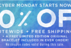Pura Vida Cyber Monday Deal: 50% Off Entire Order + Free LE Bracelet + Shipping!