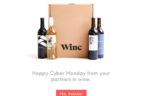 Winc Cyber Monday Deal – 4 Bottles for $26!