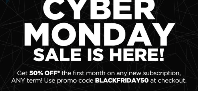 Nerd Block Cyber Monday Deal: 50% Off First Month ANY BLOCK + 50% Past Blocks!