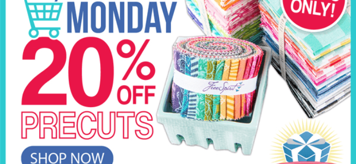 Fat Quarter Shop Cyber Monday Sale: Save 20% on All Precuts!