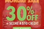 Hint Water Cyber Monday Deal! Save 30% + Free $10 Credit!