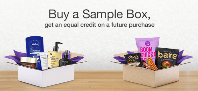 New FREE Amazon Prime Sample Boxes After Credit!