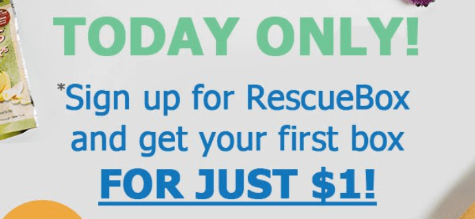 Rescue Box Cyber Monday Deal: First Box $1!