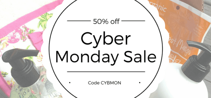 Pampered Mommy Cyber Monday Deal: 50% Off Past Box Sale!