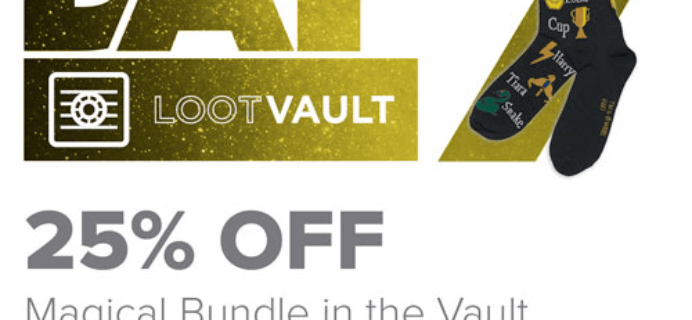 Loot Crate Geekmas Deal: Save 50% on Magical Vault Bundle!