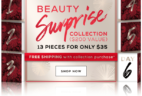 TODAY ONLY: bareMINERALS Beauty Surprise Collection + Free Gift & Shipping!