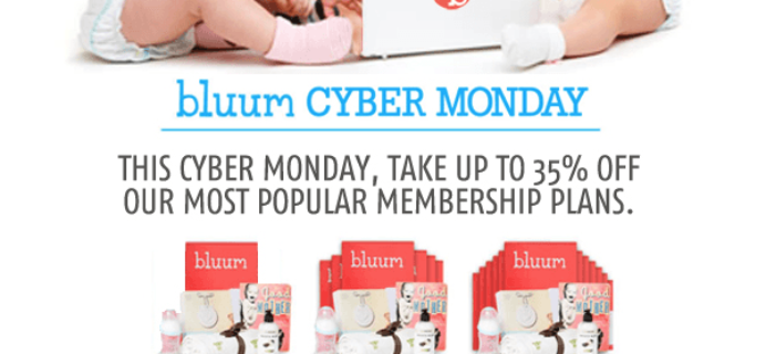 Bluum EXTENDED Cyber Monday Deal! Save Up To 35%!