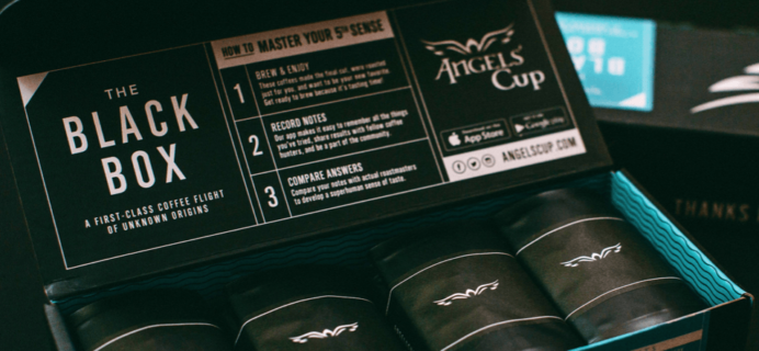 Angels' Cup 2016 Geisha Holiday Black Box Available Now!