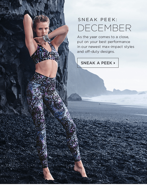 December 2016 Fabletics Sneak Peek + $15 First Outfit Coupon