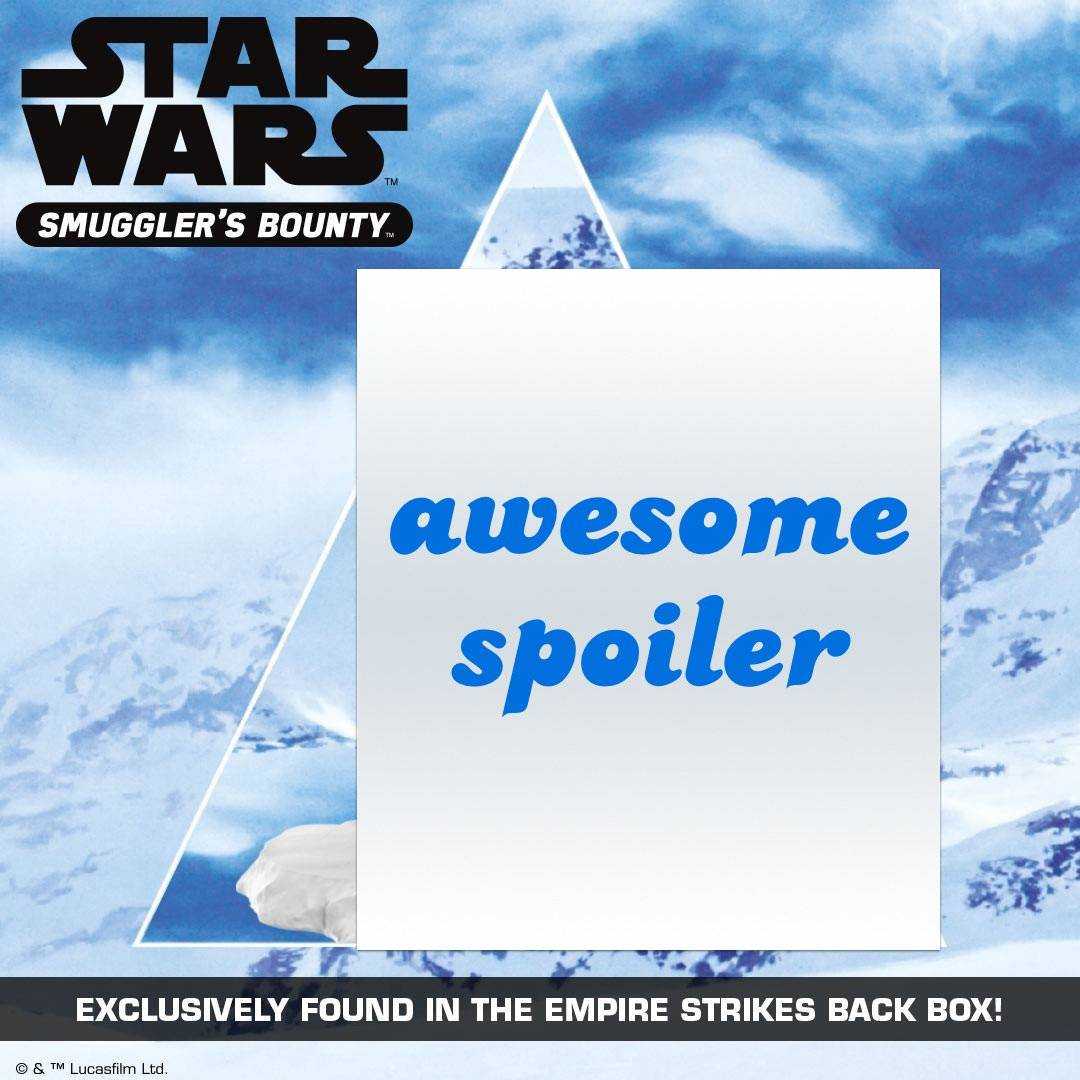 Smuggler's Bounty January 2017 Spoilers – Theme & POP!